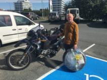 Happy to find Biking Viking shop to install my new K60 Scout Heidenau tires