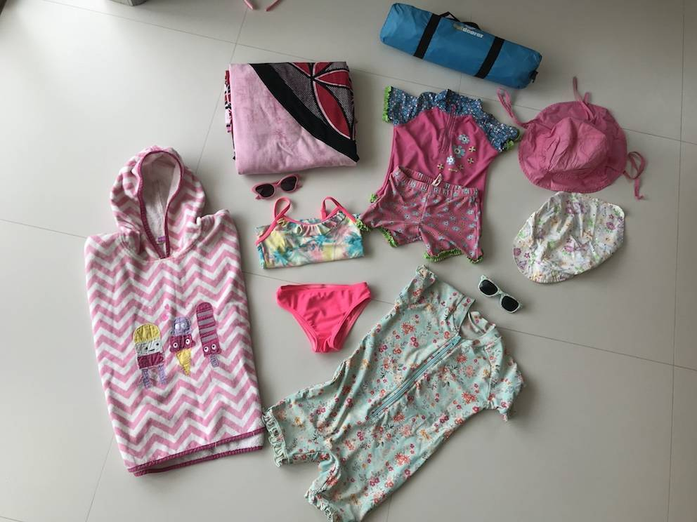 Kinder Strandkleidung