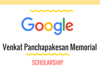 Venkat-Memorial-Google-scholarship