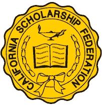 california scholarship federation awards