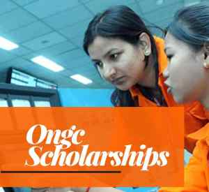 ongc india scholarships application form
