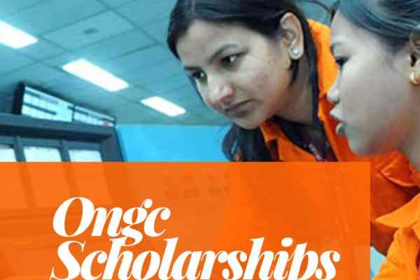 ONGC Scholarships for Meritorious SC/ST Students 2019