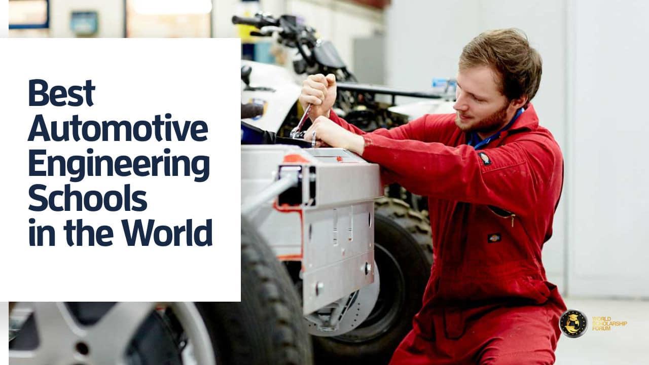 Automotive Engineering Schools >> 13 Best Automotive Engineering Schools In The World 2020