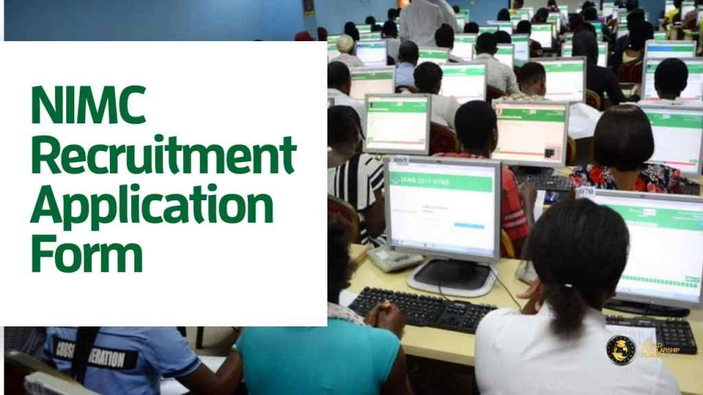 NIMC Recruitment 2020/2021 | Application Form & Salary
