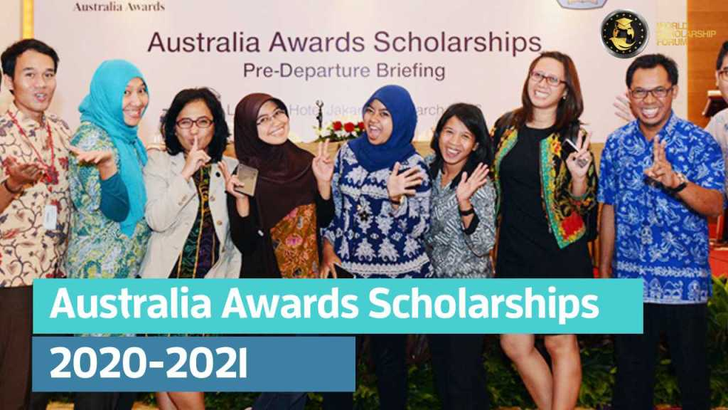 Australia Awards Scholarships 2020-2021