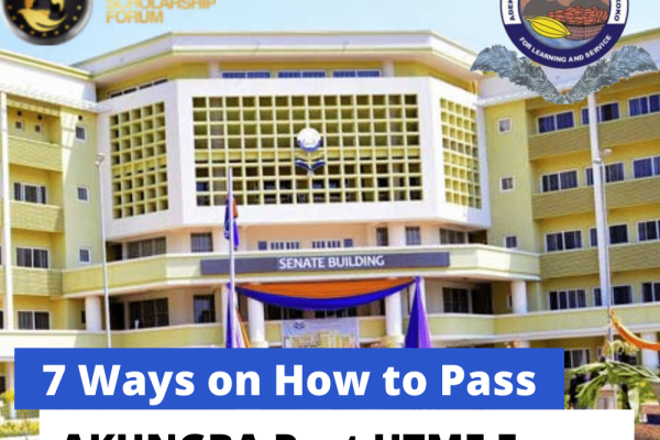 Ways on How to Pass AKUNGBA Post UTME Exam in 2020