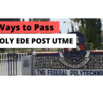 Cómo pasar Fed-Poly-Ede-Post-UTME