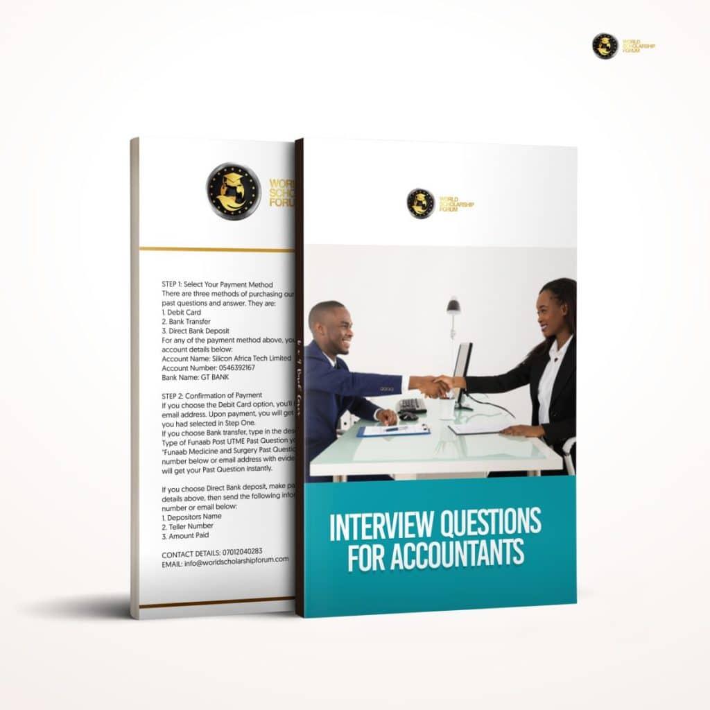 أسئلة المقابلة للمحاسبين المنتدى العالمي للمنح الدراسية