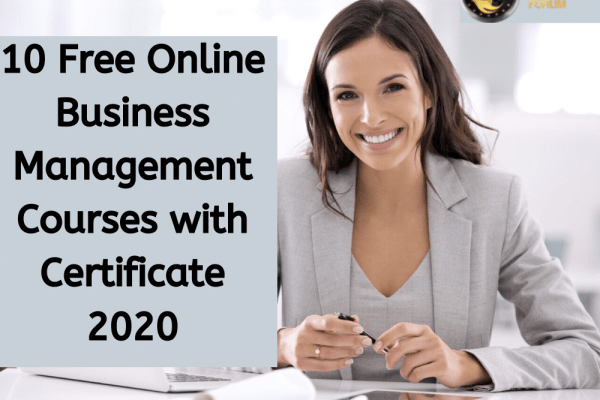Free Online Business Management Courses with Certificate