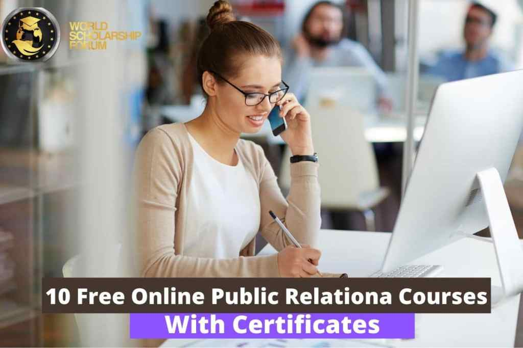 10 Free Online Public Relations Courses With Certificates 2020