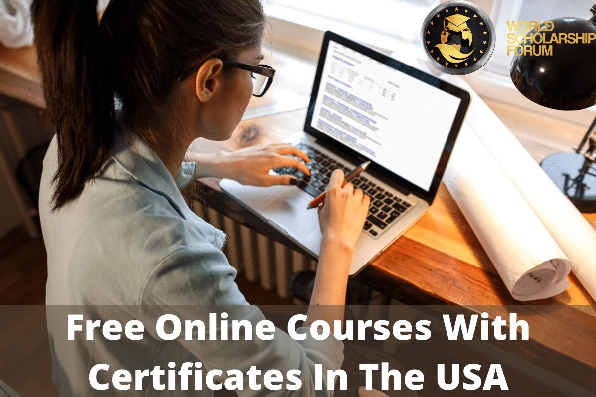 15 Cursos Online Gratuitos Com Certificados Nos Eua