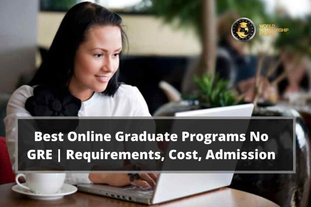 Best online graduate program no GRE