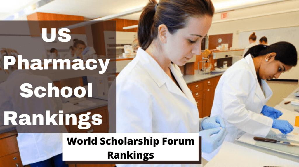 Ranking de las mejores escuelas de farmacia de EE. UU.