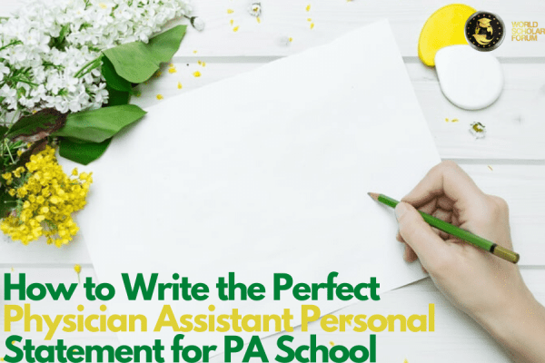 personal statements for pa school