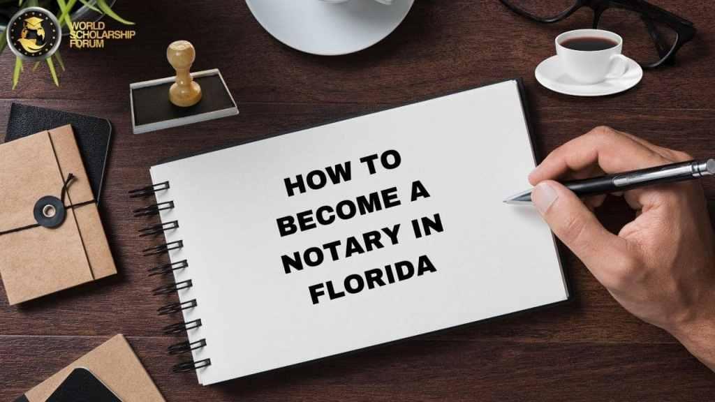 Cómo convertirse en notario en Florida: escuelas, licencias, salario, costo, requisitos