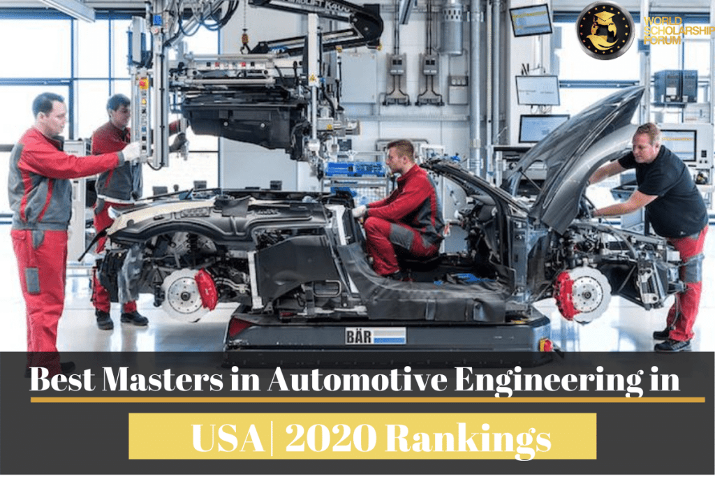 Masters in Automotive Engineering universities