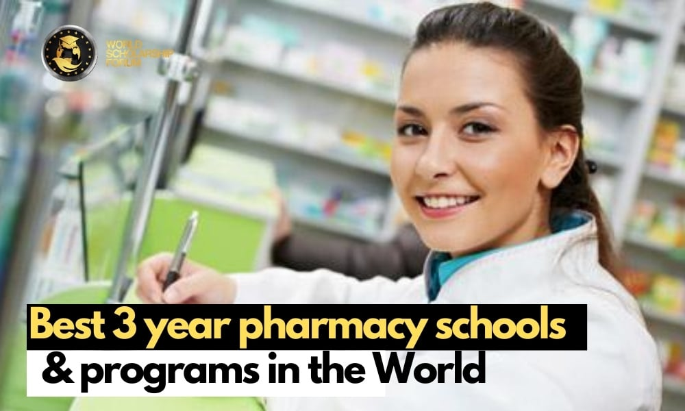 3 year accelerated pharmacy schools and programs