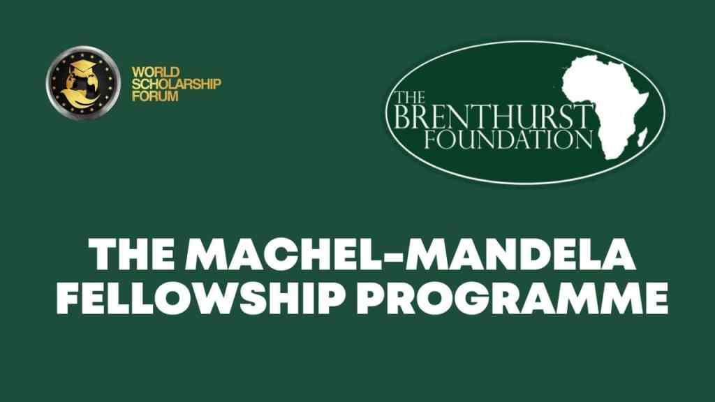 Programa de becas financiado por Machel-Mandela 2021
