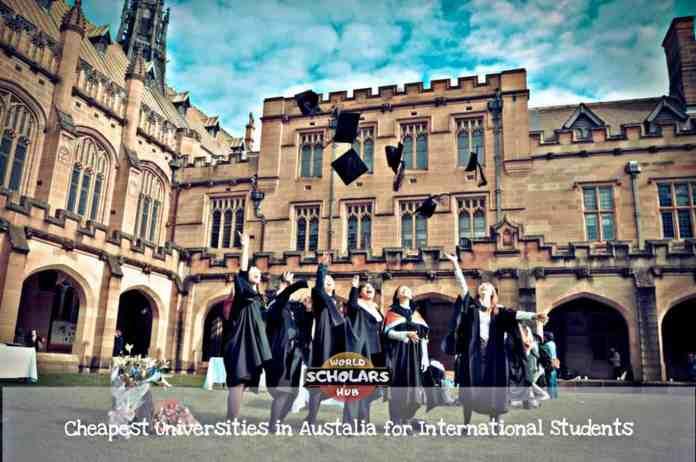 Cheapest Universities in Australia for International Students