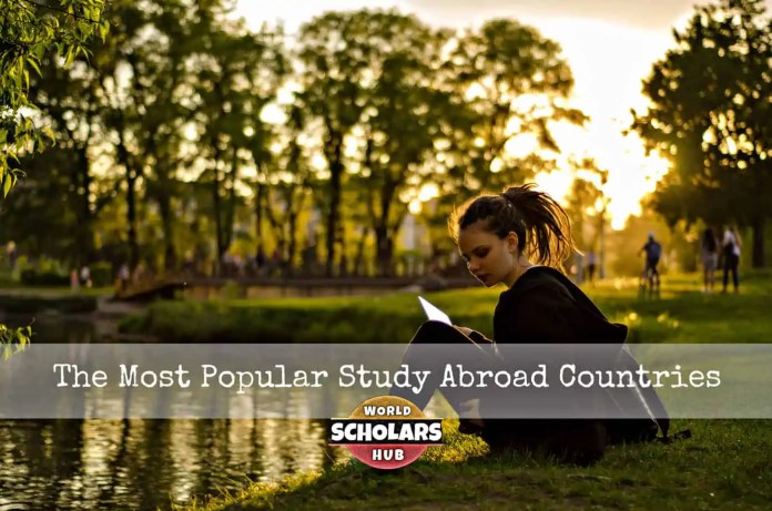 Most Popular Study Abroad Countries