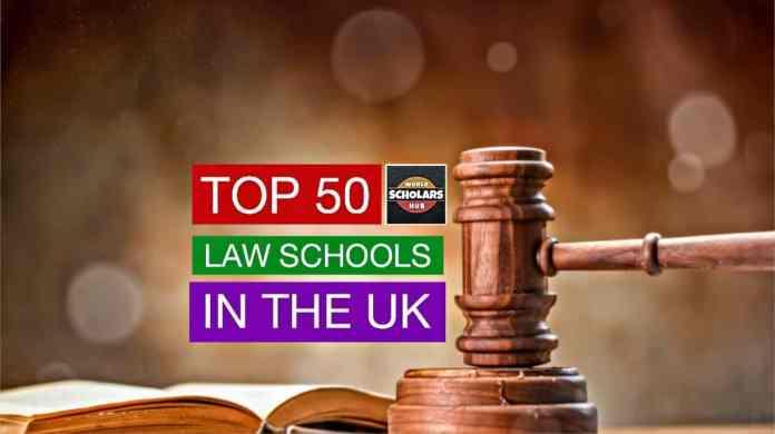 Top Law Schools in the UK