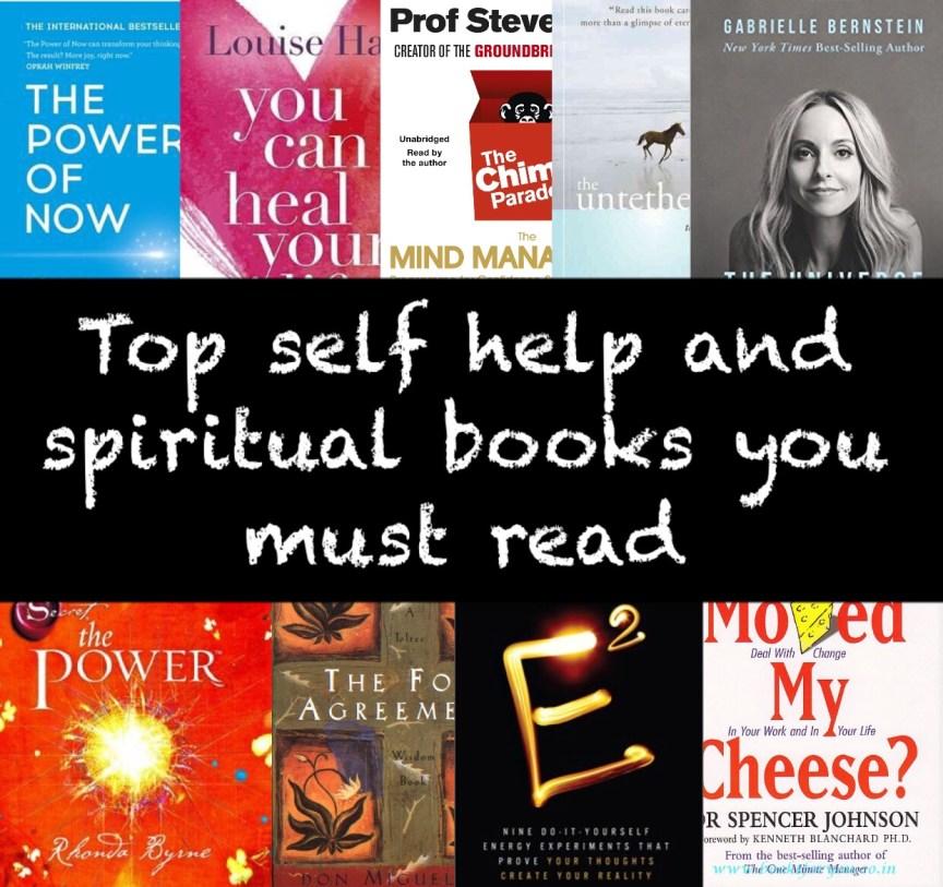 Top self help and spiritual books you must read solutioingenieria Gallery