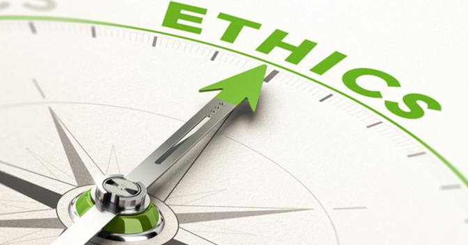 Living by a code of ethics