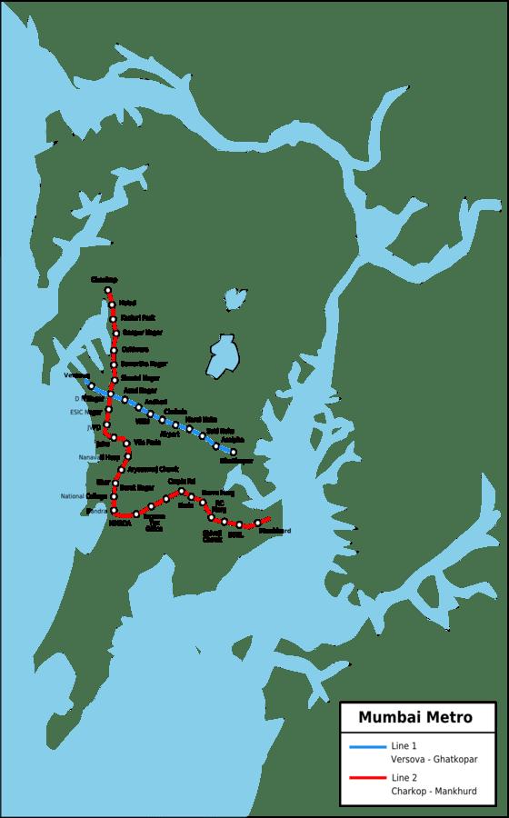 ムンバイメトロ地下鉄