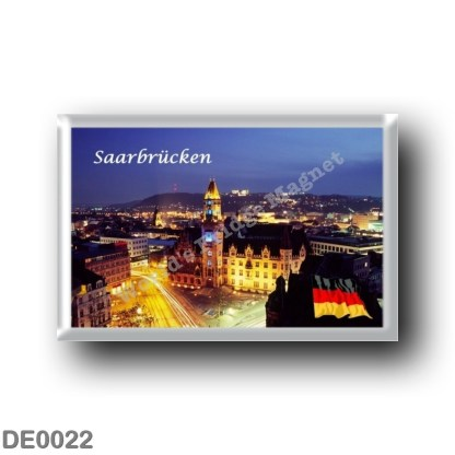 DE0022 Europe - Germany - Saarbrücken - fridge magnet