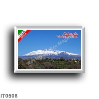 IT0508 Europe - Italy - Sicily - Catania - Etna with Snow