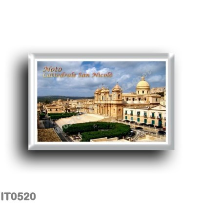 IT0520 Europe - Italy - Sicily - Noto - San Nicolo Cathedral
