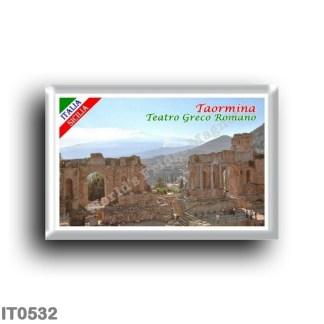 IT0532 Europe - Italy - Sicily - Taormina - Greek Roman Theater
