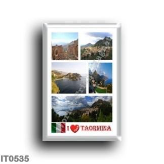 IT0535 Europa - Italia - Sicilia - Taormina - I Love