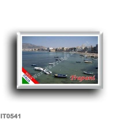 IT0541 Europe - Italy - Sicily - Trapani - Panorama