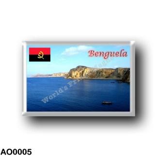AO0005 Africa - Angola - Benguela - Coatinha beach