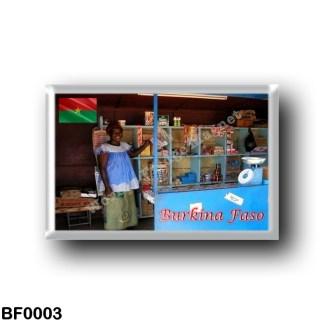 BF0003 Africa - Burkina Faso - Burkinabé shop
