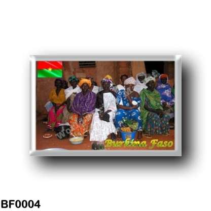 BF0004 Africa - Burkina Faso - Bobo Vendors