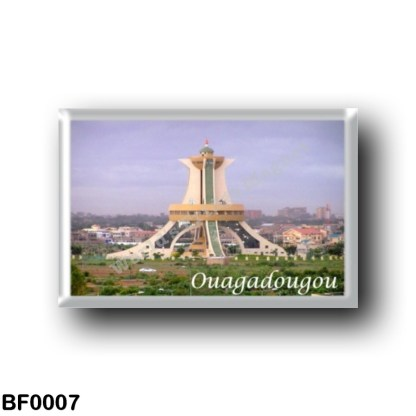 BF0007 Africa - Burkina Faso - Oagadougou Faso