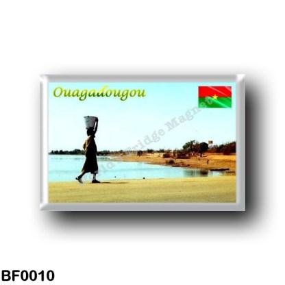 BF0010 Africa - Burkina Faso - Ouagadougou - Barrage ouaga