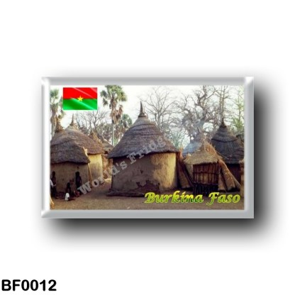 BF0012 Africa - Burkina Faso - Traditional homes