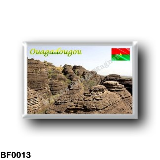BF0013 Africa - Burkina Faso - Peaks of Fabedougou