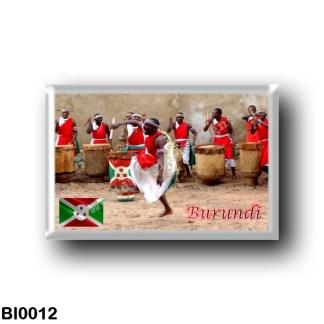 BI0012 Africa - Burundi - Spectacle de Tambours