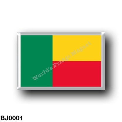 BJ0001 Africa - Benin - Flag