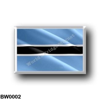 BW0002 Africa - Botswana - Flag Waving