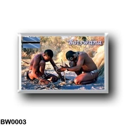 BW0003 Africa - Botswana - BushmenSan