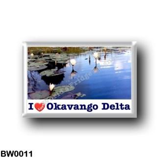 BW0011 Africa - Botswana - Okavango Water Lillies