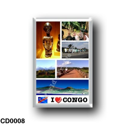 CD0008 Africa - Democratic Republic of the Congo - I Love