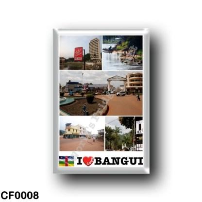 CF0008 Africa - Central African Republic - Bangui I Love