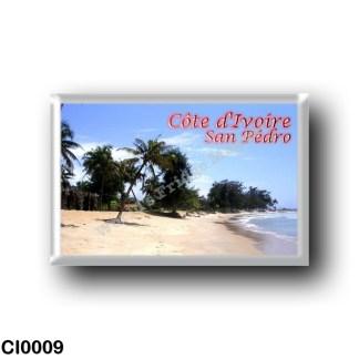 CI0009 Africa - Ivory Coast - San Pédro - Plage