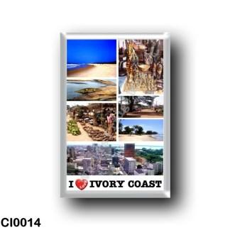 CI0014 Africa - Ivory Coast - I Love